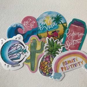 Puravida Stickers Pack